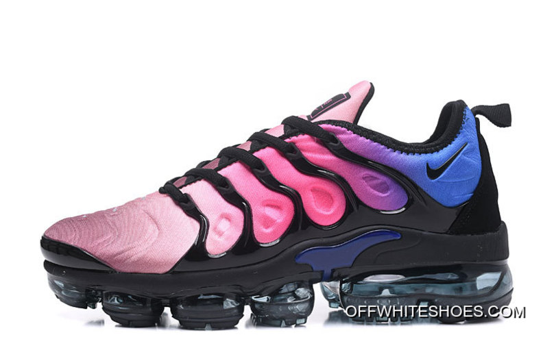 "new arrival a3810 96bf0 Free Shipping Nike Air VaporMax Plus ""Hyper Violet"" Black/Black-Team  Red-Hyper Violet-Racer Blue"