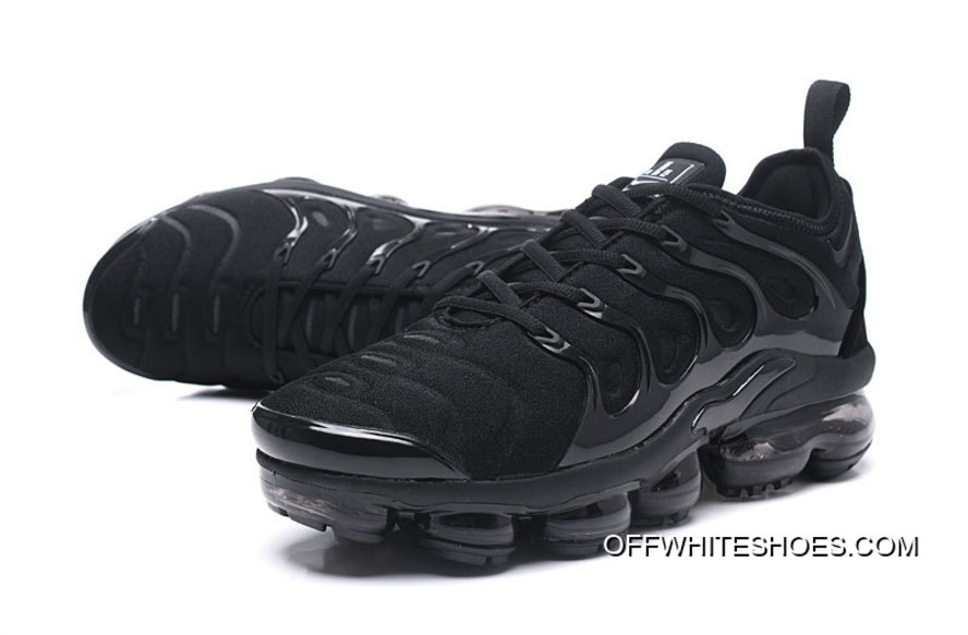 "f52affdc5a5b0 Nike Air VaporMax Plus ""Triple Black"" For Sale"