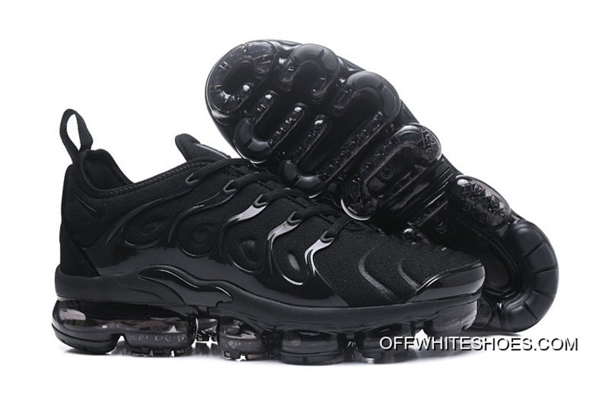"aec9071f1d7 Nike Air VaporMax Plus ""Triple Black"" For Sale"