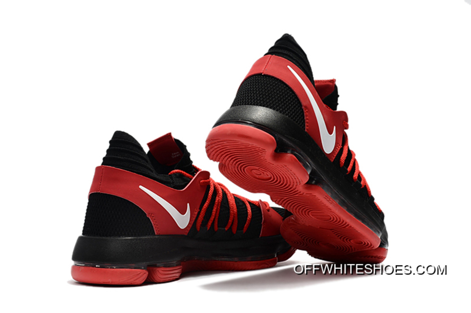 81160f620d0 Top Deals Nike KD 10 Black Red White