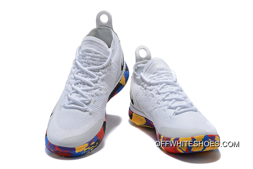 "Nike KD 11 ""NCAA March Madness"" White Multi-Color New Style d4acbf3a6"