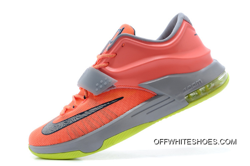 """finest selection 36656 4a8e6 Nike Kevin Durant KD 7 VII """"35000 Degrees"""" Bright Mango Space Blue"""