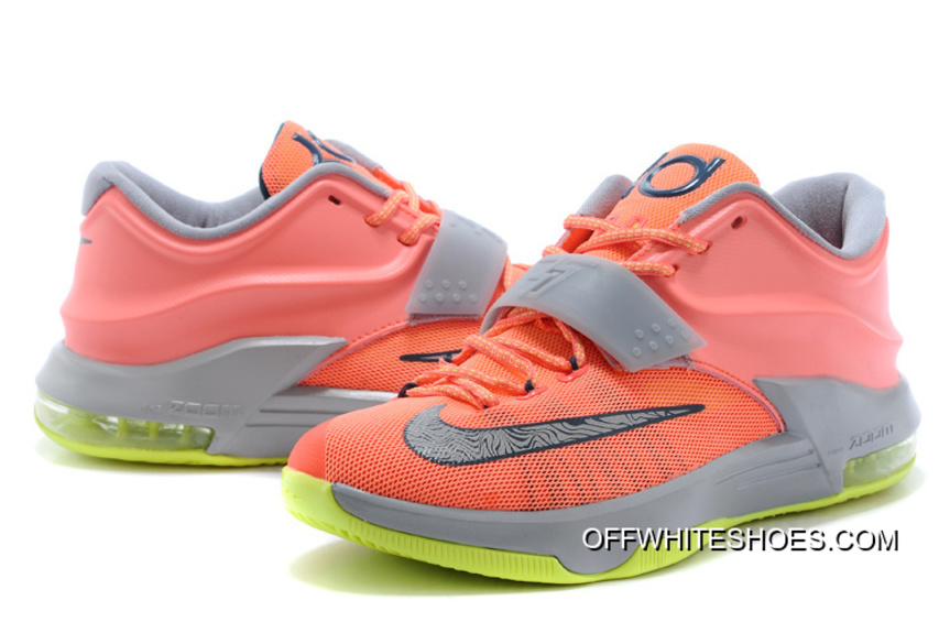 "Nike Kevin Durant KD 7 VII ""35000 Degrees"" Bright Mango/Space Blue/"