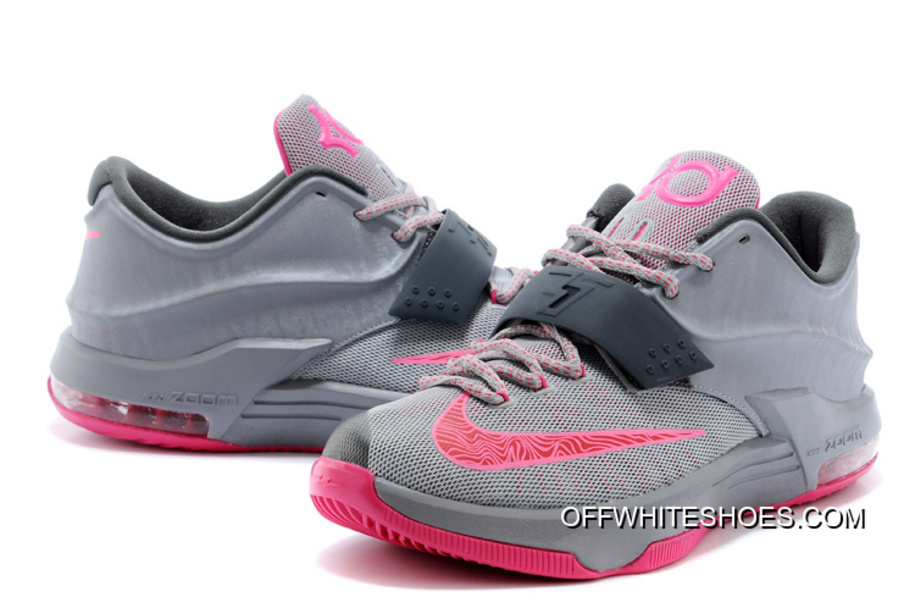 Nike Kevin Durant KD 7 VII Calm Before The Storm GreyHyper PunchLight Magnet Grey Copuon Code
