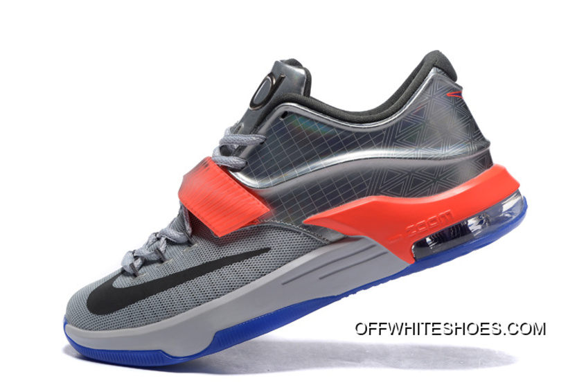 "4155c6703b32 Nike KD 7 ""All-Star"" Pure Platinum  Multi-Color-Black Online"