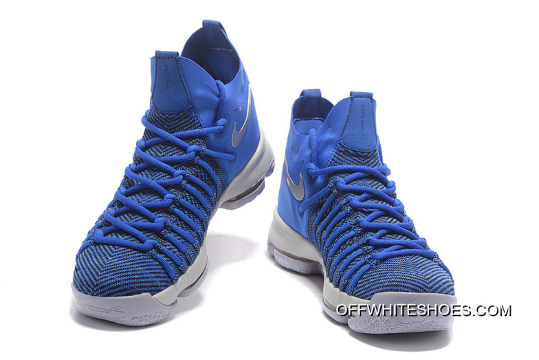 1c14937c70c5a Cheap To Buy Nike Zoom KD 9 Elite Game Royal Silver