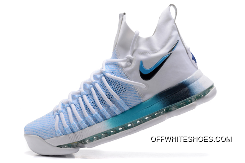 brand new c5448 42195 ... real nike zoom kd 9 elite white blue gradient new style f15b2 29d9f ...
