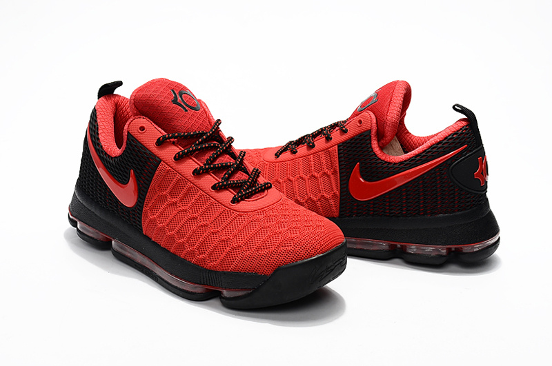 Nike KD 9 Red Black Basketball Shoes Online edd01e2e7