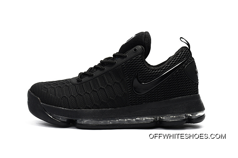 more photos 87315 2ee0c Nike KD 9 All Black Basketball Shoes Outlet
