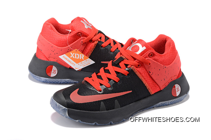 "aed3183bc307 Nike KD Trey 5 IV ""Team"" Black Red For Sale"