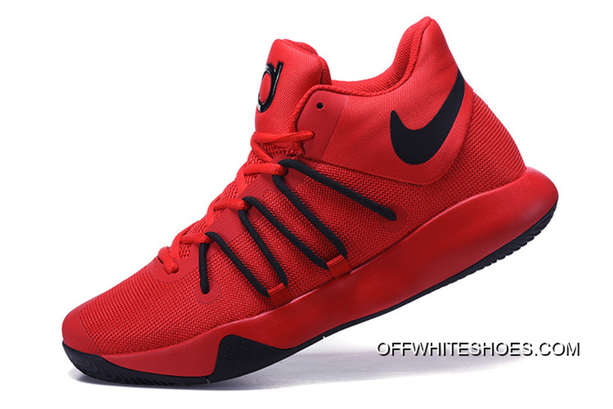 618c159fca3a Super Deals Nike KD Trey 6 Red Black Basketball Shoes