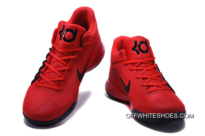 big sale ae7ce 5c3c9 Super Deals Nike KD Trey 6 Red Black Basketball Shoes, Price: $92.09 ...