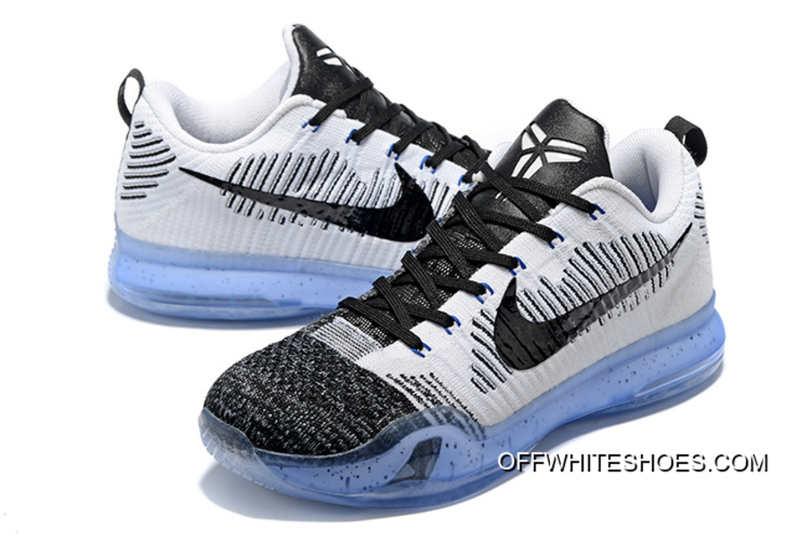"new style a899e f55fa Off-White Lastest Nike Kobe 10 Elite Low HTM ""Shark Jaw"""