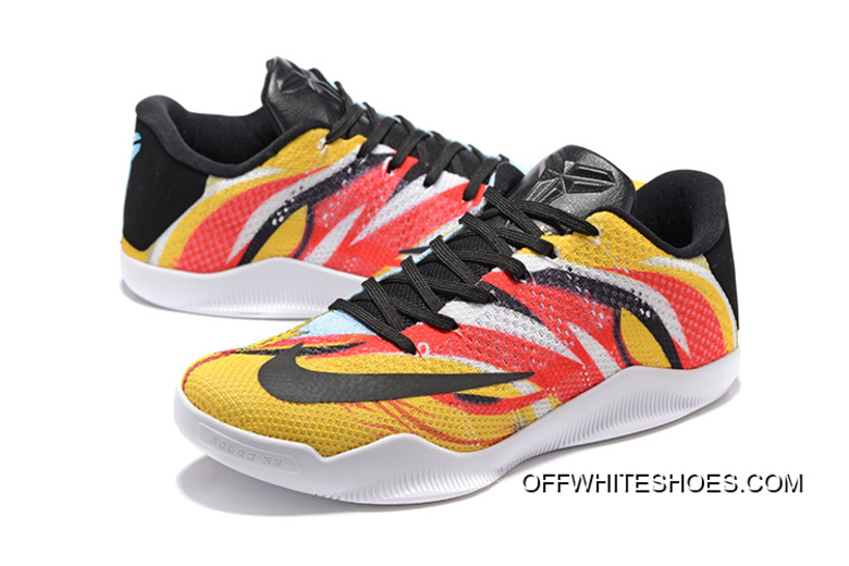 "0e6e3b59665b Best Nike Kobe 11 Elite Low ""Sun WuKong"" Mens Basketball Shoes ..."