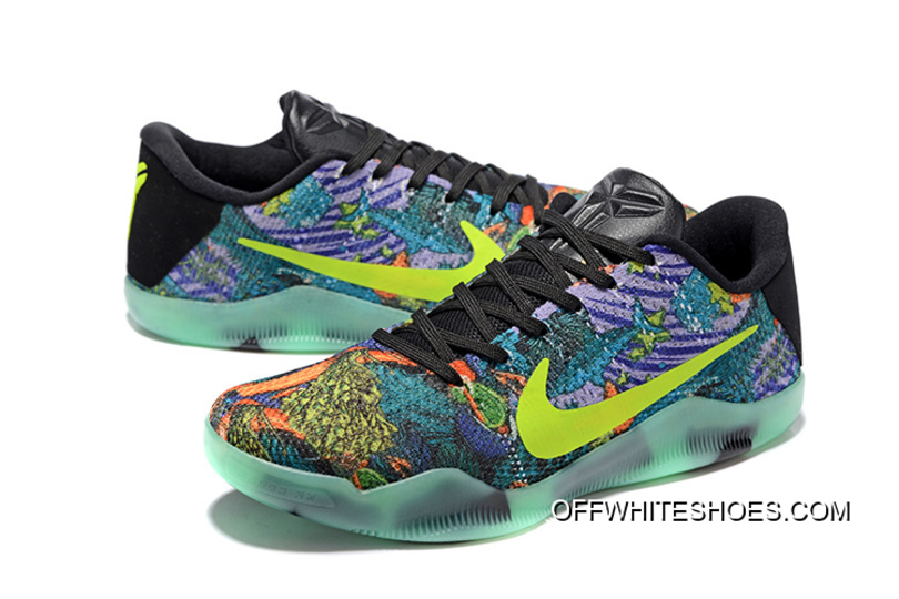 separation shoes 8b0c6 457ee ... shop Nike Kobe 11 Master Colorful Glow In The Dark Mens Basketball  Shoes Where To Buy ...