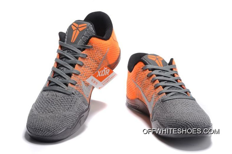 "3ffbc4eec4eb Nike Kobe 11 Elite Low ""Easter"" Grey Orange For Sale"