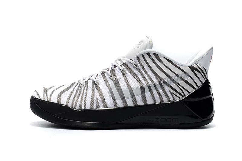 "finest selection e4ff2 b40a5 Nike Kobe A.D. ""Black Zebra-Stripe"" For Sale, Price: $87.17 - OFF ..."