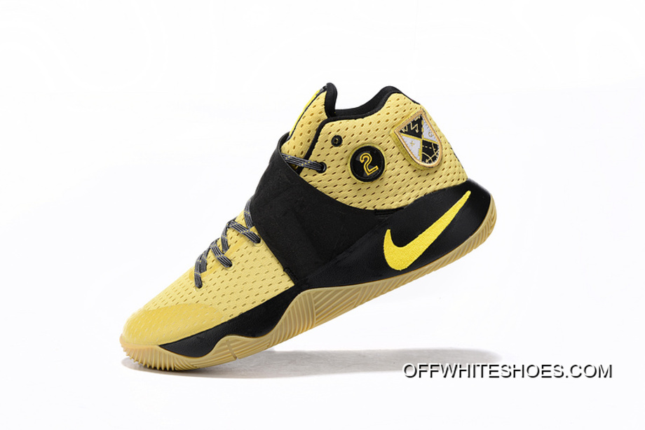 "47eee6ba1a77 Online Nike Kyrie 2 ""All-Star"" Celery Varsity Maize-Black"