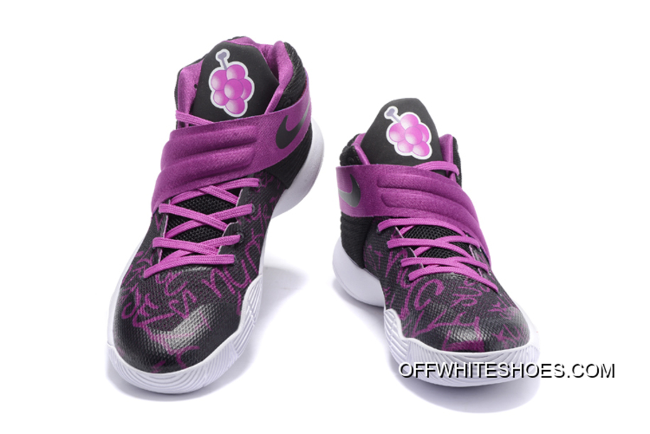 "faba431d0e63d Top Deals Nike Kyrie 2 ""Grape Jelly"" Custom, Price: $87.96 - OFF ..."