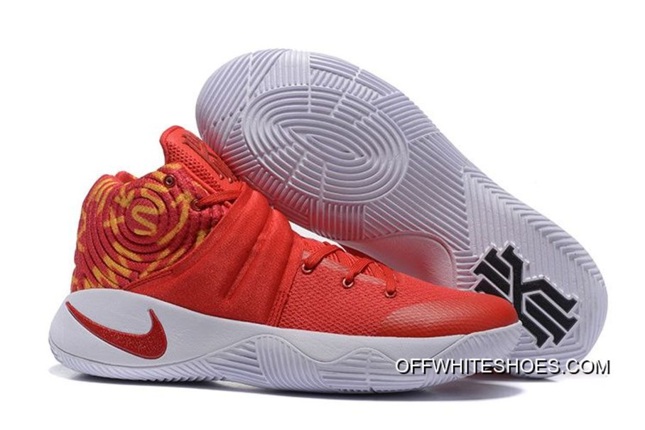 the best attitude 4df17 78490 ... clearance nike kyrie 2 red white basketball shoes for sale cae85 72bee