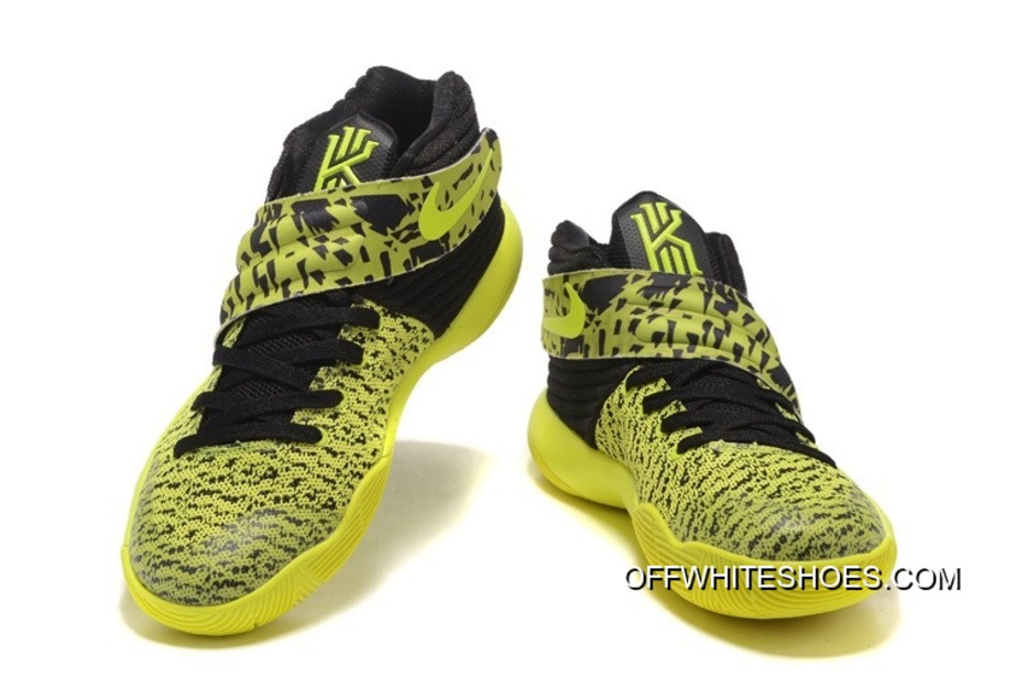 free shipping f0a44 ef24a Nike Kyrie 2 Yellow Volt-Black Discount