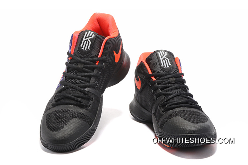 "5b4be65d51ad Off-White Top Deals Nike Kyrie Irving 3 ""Hamsa Hand"" Tattoo Basketball Shoes"