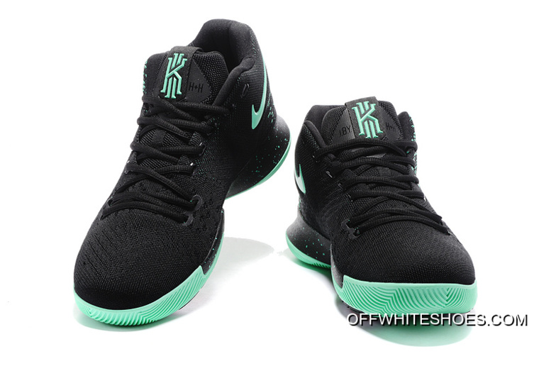 eb8d53914bf Nike Kyrie 3 Grass Green Black Off-White New Release