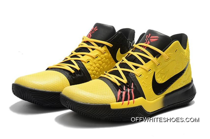 """detailing 0ad19 7e75f Nike Kyrie 3 """"Bruce Lee"""" Tour Yellow Black Best"""