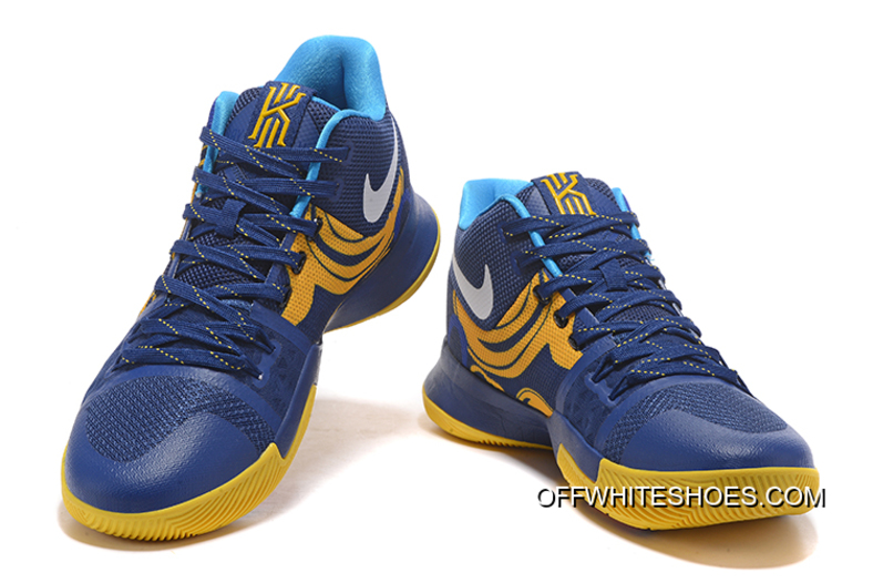 size 40 65dc0 0daf1 Top Deals Nike Kyrie 3 Blue Yellow PE Vs Wizards