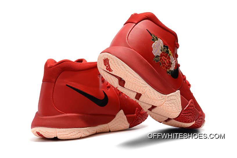 """8ce7c6baa32 Best Nike Kyrie 4 """"Floral"""" Red Peony"""