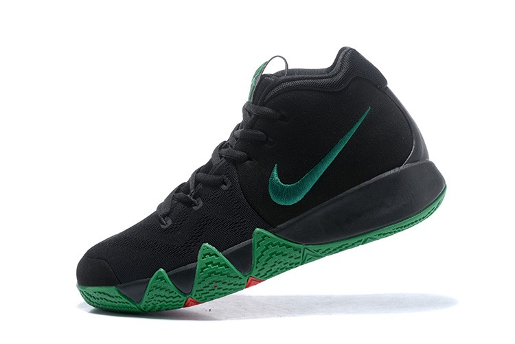timeless design d532c 7f5b4 Latest Nike Kyrie 4 Black Green Red