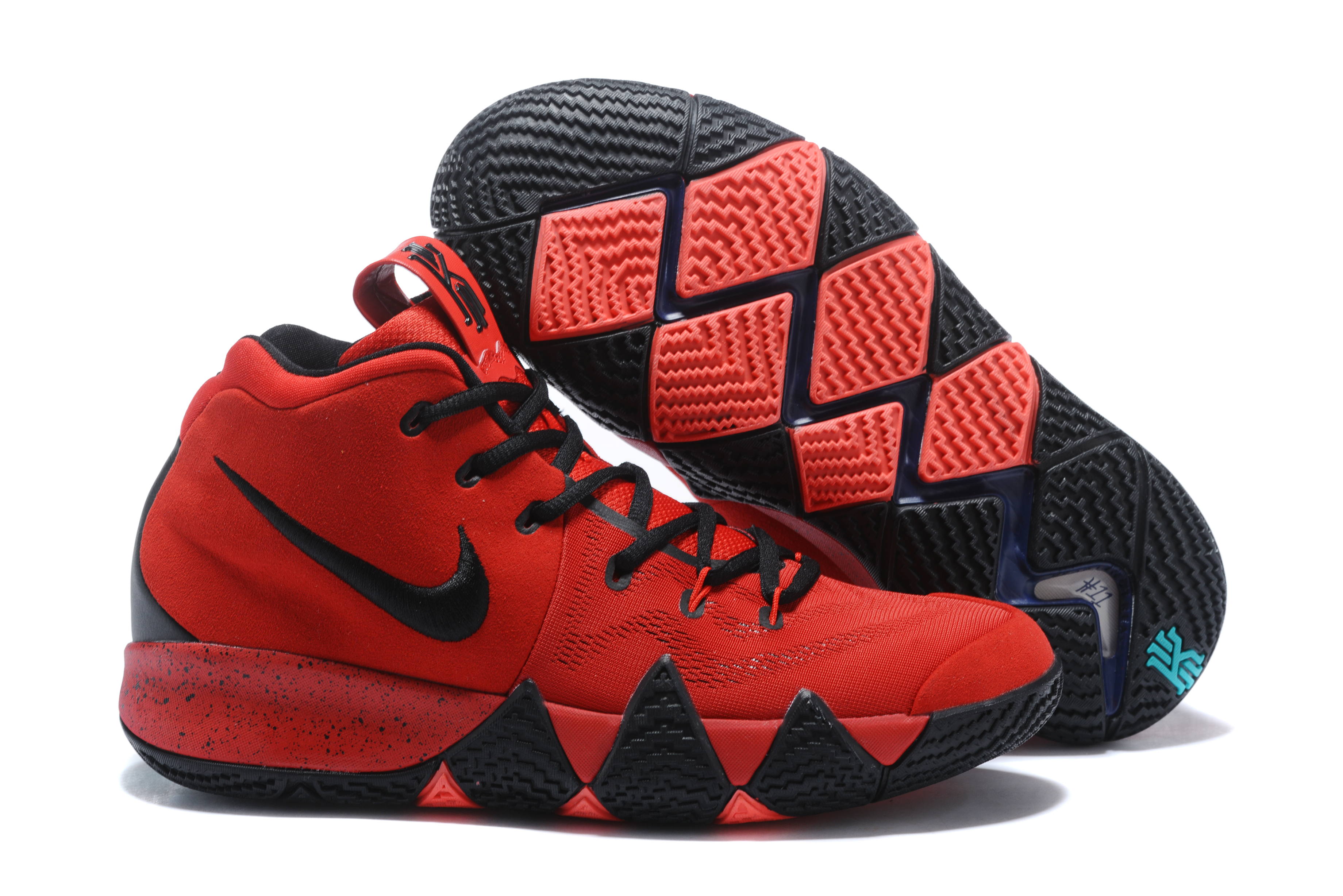 new arrival 5437b a980f New Style Nike Kyrie 4 Red Black