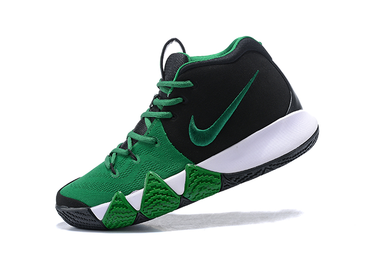huge selection of 46cae 308cd New Year Deals Nike Kyrie 4 Black Green-White