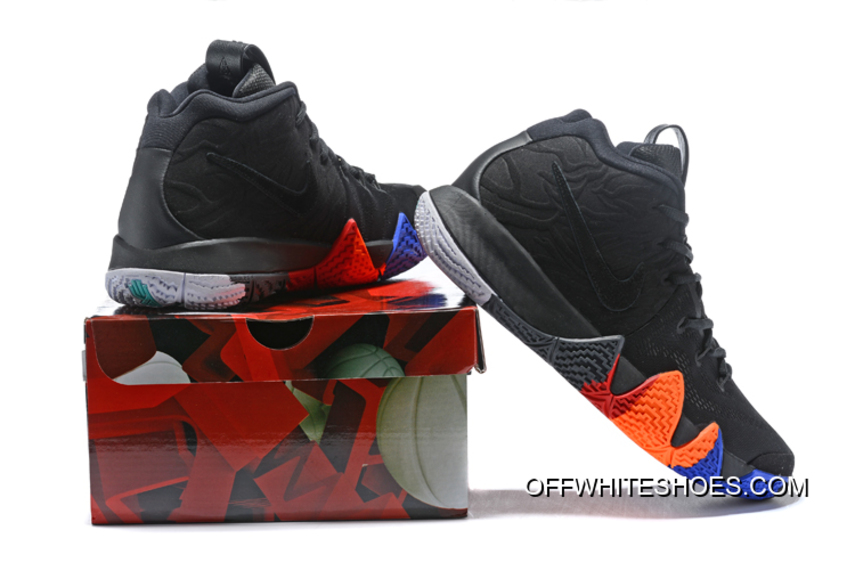 """competitive price c6031 5894e Online Nike Kyrie 4 """"Year Of The Monkey"""" Anthracite/Black"""