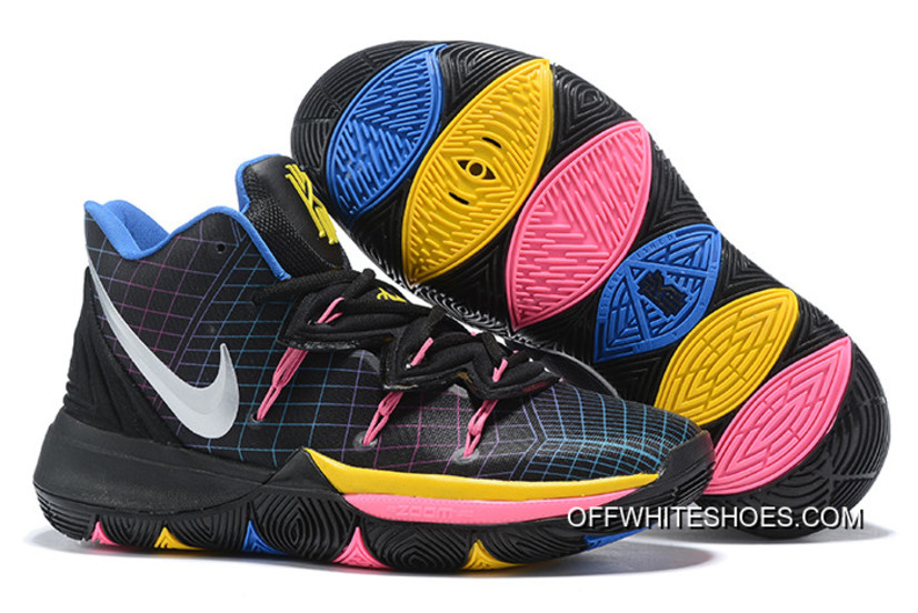 "new concept 1fd60 0f166 Nike Kyrie 5 ""Devil Pink"" Black Multi-Color Outlet"