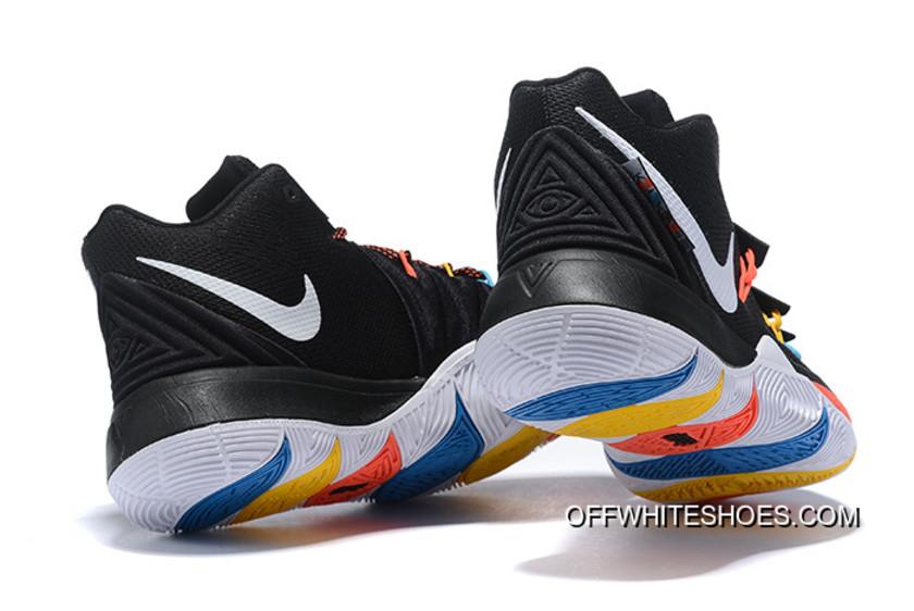 "new product b7a35 7c10f Nike Kyrie 5 ""Friends"" PE Black Multicolor Top Deals"