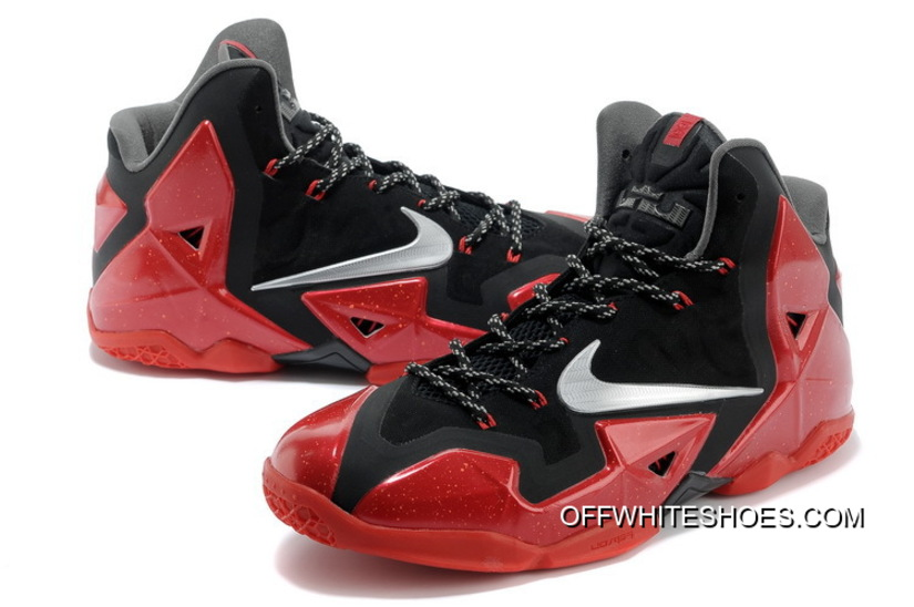 detailed look 70ad5 aa5c4 ... new zealand new year deals nike lebron 11 away black metallic silver  university red 37aa2 72f46