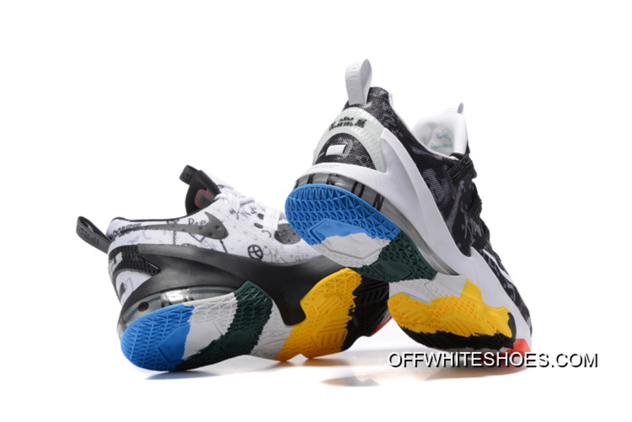 "c6204f8cd7b77 Nike LeBron 13 Low ""LeBron James Family Foundation"" Off-White New Release"