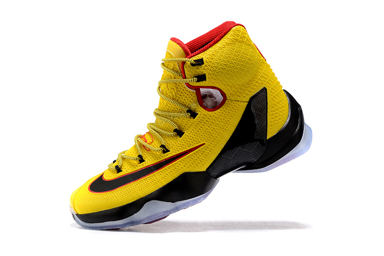low priced b8880 fd638 Nike LeBron 13 Elite YellowBlack-Red New Release