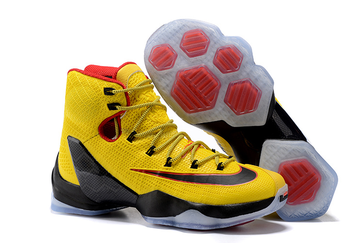 on sale 0cdd6 3a5f7 Nike LeBron 13 Elite Yellow/Black-Red New Release