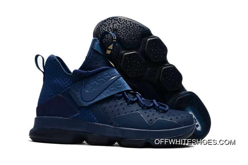 "7aeb5a9df5b0 Nike LeBron 14 ""Agimat"" Coastal Blue White-Star Blue New Year Deals ..."