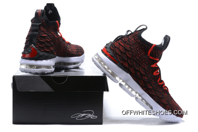 259565726450 Nike LeBron 15 Multi-Color Black White University Red Top Deals ...
