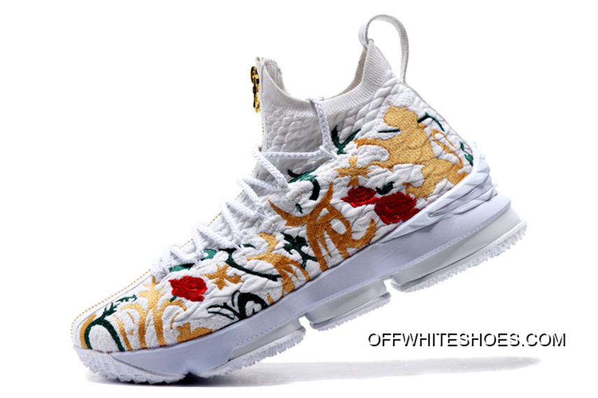 "Top Deals KITH X Nike LeBron 15 ""Floral"" 1cbc179f3"