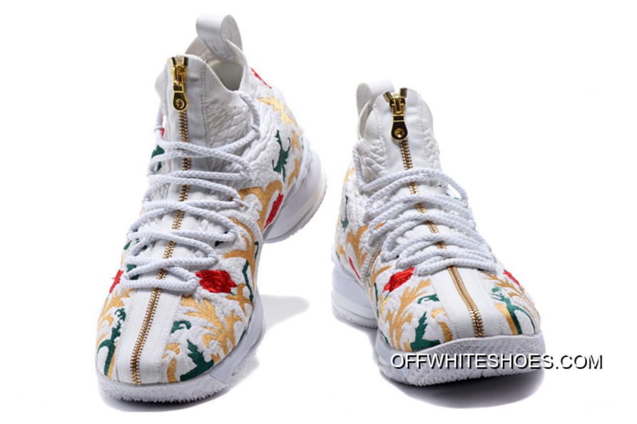 "Top Deals KITH X Nike LeBron 15 ""Floral"" 1f9bb78993"