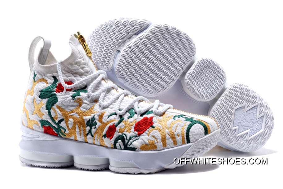 "Top Deals KITH X Nike LeBron 15 ""Floral"" bcba88a4ceb0"