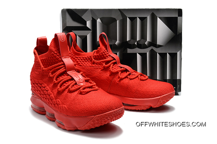 af93a5e17b75 ... Nike LeBron 15 Ohio State PE Red Black Outlet best choice b9ad6 bc4ba