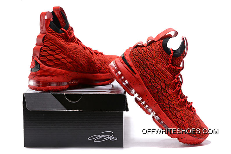 c077c30be53f77 New Year Deals Nike LeBron 15 Red And Black