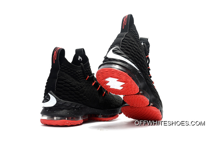 47e40e0ed3c Nike LeBron 15 Black Red Buy Now