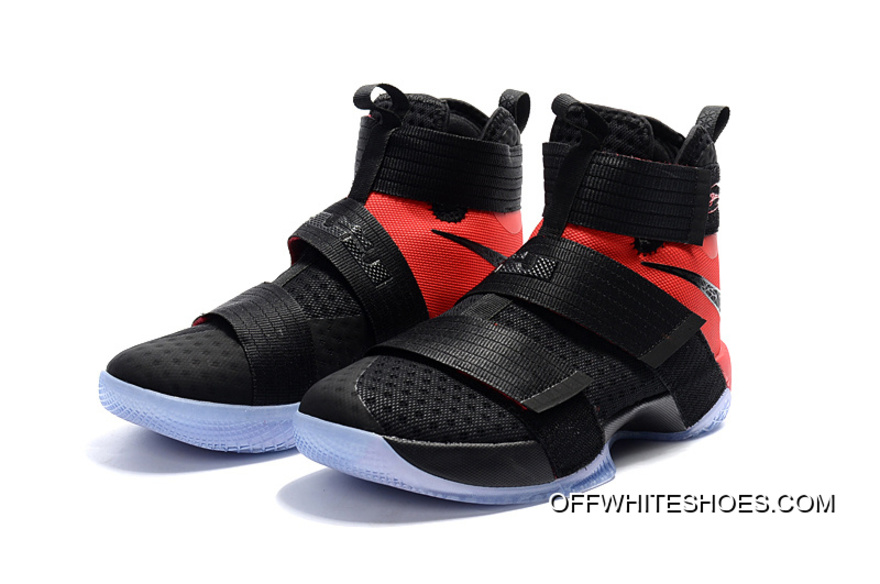 "detailed look 3bb6a 4e019 Off-White Discount Nike LeBron Zoom Soldier 10 ""Team Red"""