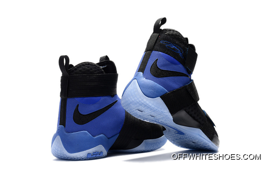 """4c0ddb94ca98 Nike LeBron Zoom Soldier 10 """"Game Royal"""" Off-White Best"""